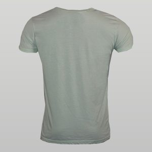 Ash Green Burnout T-Shirt