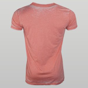 Coral Burnout T-Shirt