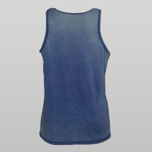 Blue Burnout Vest