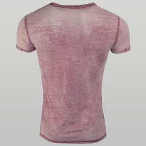 Pink Burnout T-Shirt